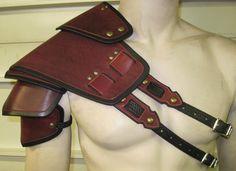 Centinela de armadura de cuero segmentado por SharpMountainLeather