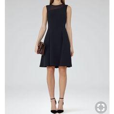 Reiss Black Dress. Size 0 & 6. Nwt.