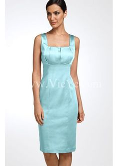 Elegant Stretch Satin Mother of the Bride Dress with Jacket ...