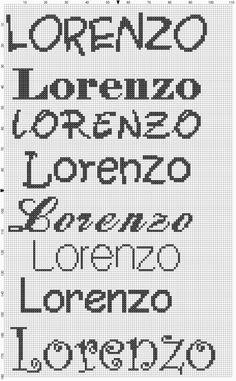 KIONKIORI Punto Croce: Filippo, Federica, Killian Ethan, Zoe, Marcella, Giovanni Pio e Daniele, Raffaele, Lorenzo