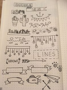 bullet journal doodles / bullet journal & bullet journal ideas & bullet journal layout & bullet journal inspiration & bullet journal doodles & bullet journal weekly spread & bullet journal how to start a & bullet journal ideas layout Bullet Journal Inspo, Doodle Bullet Journal, Bullet Journal Headers, Bullet Journal Banner, Bullet Journal Writing, Bullet Journal 2020, Bullet Journal Aesthetic, Bullet Journal Frames, Bullet Journal Ideas Handwriting