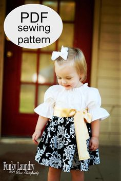 WHIMSY COUTURE Sewing Pattern PDF Tutorial ebook by whimsycouture, $9.00