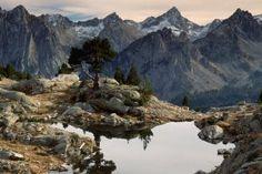 Uno de los más de 300 lagos del parque nacional de Aigüestortes, en Lleida.