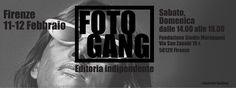 Foto Gang sarà alla Fondazione Studio Marangoni i giorni 11 e 12 febbraio dalle ore 14 alle 19 Troverete una selezione di libri e fanzines auto-prodotti o provenienti da piccole case editrici indipendenti affiancata da presentazioni e aperitivi.