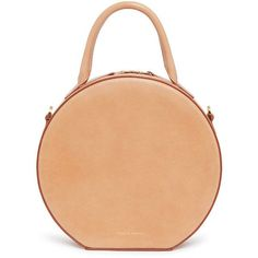 Mansur Gavriel Vegetable Tanned Circle Crossbody ($695) ❤ liked on Polyvore featuring bags, handbags, shoulder bags, leather man bags, leather crossbody, red leather shoulder bag, cross-body handbag and red leather crossbody