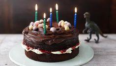 Easy chocolate birthday cake