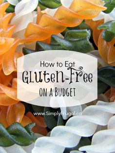Whether you've been diagnosed with Celiac disease, are gluten-intolerant, or are eating a gluten-free diet for your own health benefits, you will know that it is not a cheap diet to be on. Here are some tips to help you eat gluten-free on a budget.