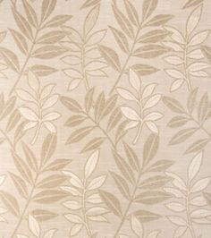 Upholstery Fabric-Eaton Square Rizzoli-Natural Floral/Foliage, , hi-res