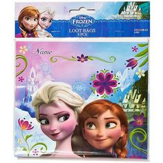 Each Bag measures approx. 9 x inches, 8 bags to a pack. 1 pack per listing. These frozen loot Bags are great for putting together a fun mix of party favors! These bags feature Elsa and Anna from Disney's Frozen. Frozen Treat Bags, Frozen Party Favors, Disney Frozen Party, Frozen Theme Party, Halloween Costume Shop, Halloween Costumes For Kids, Elsa Frozen, Film Frozen, Frozen Activities