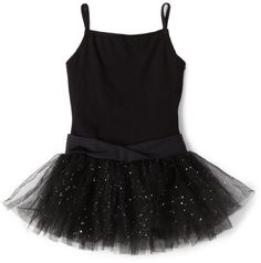 4b249aa5e09 Reflectionz has created this adorable black leotard dance tutu dress just  for the little girl dancer in your life. The washi…
