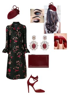 """Untitled #478"" by lovelifesdreams on Polyvore featuring Dolce&Gabbana, DKNY and Gianvito Rossi"