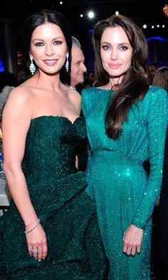 Catherine Zeta-Jones & Angelina Jolie 2011