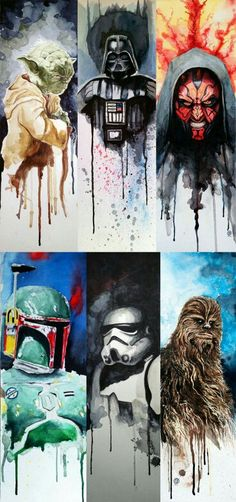 Water color Star Wars