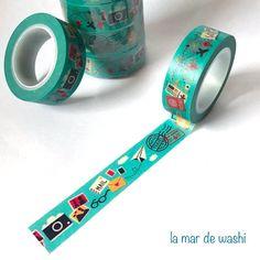 Washi Tape mail travel