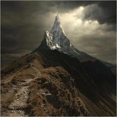 Mount Cervino, or Matterhorn, Switzerland