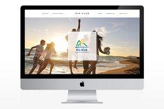 Rio Klub - web design, designed by www.radartworks.eu Box Design, Rio, How To Plan, Projects, Log Projects, Blue Prints