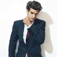 Andrew Garfield. This guy can act like a CHAMP. Oh, and he is really really ridiculously good looking.