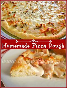 The Country Cook: Homemade Pizza Dough