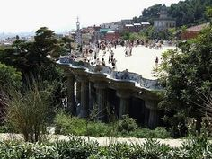 Parc Guell travel-and-places