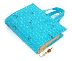 Book Cover Bag SEA CRITTERS £17.00