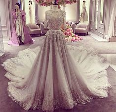 Ralph and Russo dress ❤️. For an event, have it without the trail (*not a bride*)