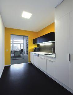 CBE - Kitchen Area - Marmorette - Dark Grey
