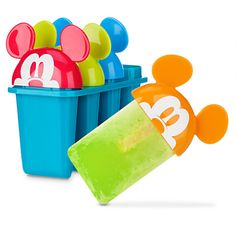 Mickey Mouse Popsicle Moulds, Summer Fun Collection