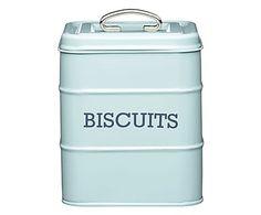 Pote para Biscoito Nostal - Azul