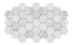 Exklusiv hexagon marmor i storlek 10x10 cm för golv och vägg. Levereras fraktfritt direkt hem till dig.