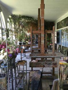 14 juin 2014 406 — Claire Basler side room my studio Home Art Studios, Studios D'art, Art Studio At Home, Studio Room, Dream Studio, Studio Spaces, Artist Studios, Claire Basler, Art Atelier