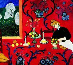 Красная комната, Анри Матисс, 1908