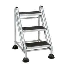 Rolling-Step-Stool-Folding-Ladder-Steps-Portable-Kitchen-Garage-Office-Foldable