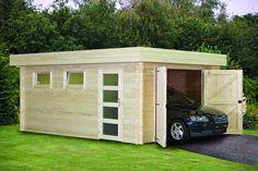 Deze Houtbehandeling Gardexo Garage plat dak kopen voor €519,-? Keuze uit drie soorten houtbehandeling