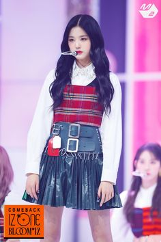 Photo album containing 14 pictures of Wonyoung Kpop Girl Groups, Kpop Girls, Yuri, Eyes On Me, Fiesta Outfit, Twitter Update, Stage Outfits, Ulzzang Girl, Pop Fashion