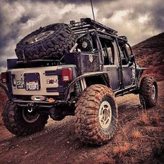 (Jeep Wrangler) > -non-functional backseat -don't think you can put up soft top . Jeep Truck, 4x4 Trucks, Cars Auto, Jeep Rubicon Unlimited, Mustang, Badass Jeep, Offroader, Bug Out Vehicle, Super Bikes