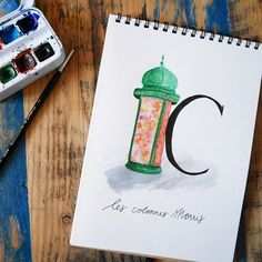 Les mythiques Colonnes Morris pour cette 3ème semaine de mon abécédaire parisien ~ Famous Colonne Morris to the 3rd week of my parisian alphabet ! • • • #abc_calligraphique #parisabecedaire #abecedaire #aquarelle #watercolor #croquis #dessin #drawing #artofinstagram #illustration #illustrationoftheday #sketch #doodle #artwork #creative #alphabet #lettre #typo #capitalroman #igersParis #ParisJeTaime #ParisMaVille #Parisianlife #VieParisienne #visitParis #VilleDeParis #super_france… Paris Ville, French Art, Drawing, Illustration, Artwork, French Artwork, Work Of Art, Drawings, Illustrations
