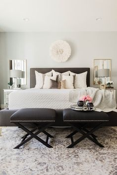 ANDREA WEST DESIGN BLOG: Mecham Dream Home | Master Bedroom Reveal