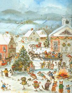 Christmas in Corgiville