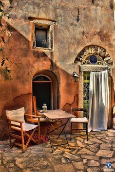 Kalamoti Village, Chios, Greece  #famfinder