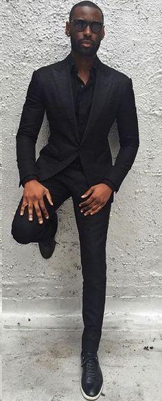 Looks Masculinos para Balada. Macho Moda - Blog de Moda Masculina: Roupa Masculina para BALADA: 28 Looks pra Inspirar, look balada masculino, look masculino moderno, roupa de homem para balada, All Black, Esporte Fino Masculino
