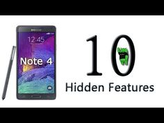 10 Hidden Features of the Galaxy Note 4 You Don't Know About Check Out Our New Website: http://www.RickytheAndroidGuy.com Like us on Facebook: http://www.fac...