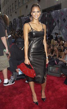 2003 MTV VMA's.  DIggin' that purse!