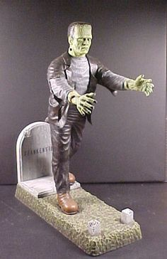 Frankenstein - The Aurora model kit that started it all...I still have my model that my Dad bought for me in 1961, starting my continuing love affair with Frankenstein and the Universal Monsters - John Hill