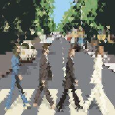 The Pixels Art Print