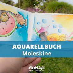 Das Moleskine Aquarellbuch hat mich durch seine Hochwertigkeit überzeugt. Das Papier ist wirklich erstklassig und damit überraschend gut für ein Notizbuch.