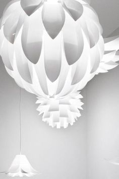 his Scandinavian designed pendant by Norman-Copenhagen is a self-assembly fitting finished in a pure Matte White. Inspired by nature and flowers its rounded silhouette and segmented leaf-life components emit beautifully soft diffused light. #scandinavian #lighting #scandinaviqndesign #lightingdesign #scandi #pendant #pendantlighting #interiorpendant #scandinavianinterior #danishdesign #danishinterior Shop Lighting, Lighting Design, Pendant Lighting, Scandinavian Lighting, Scandinavian Interior, Norman Copenhagen, Danish Interior, Wall Lights, Ceiling Lights
