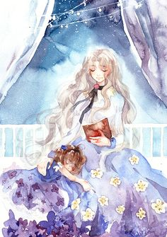 Little Sakura-chan and Nadeshiko Kinomoto