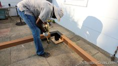 Must See DIY Patio Makeover with Pergola - ToolBox Divas White Pergola, Modern Pergola, Pergola With Roof, Pergola Plans, Diy Pergola, Diy Patio, Pergola Kits, Backyard Patio, Backyard Ideas