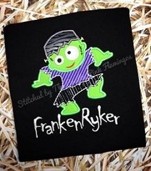 Funky Frankie Applique - 4 Sizes! | What's New | Machine Embroidery Designs | SWAKembroidery.com East Coast Applique