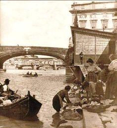 FIRENZE - lavori sull'Arno, 1896   #TuscanyAgriturismoGiratola